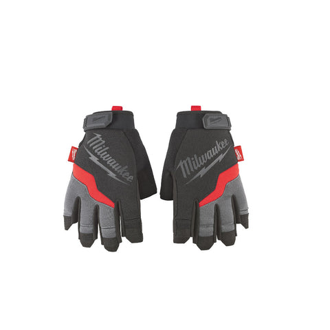 Milwaukee 48-22-8742 Fingerless Work Gloves -Large