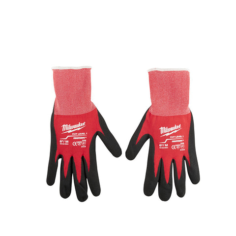 Medium Dipped Gloves, Milwaukee Brand P/N 48-22-8901