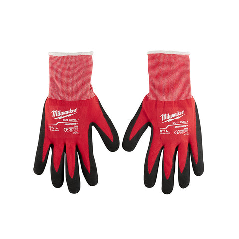 Large Dipped Gloves, Milwaukee Brand P/N 48-22-8902