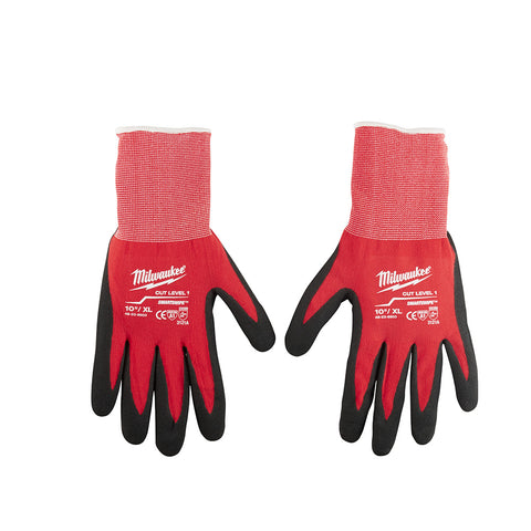 Extra Large Dipped Gloves, Milwaukee Brand P/N 48-22-8903
