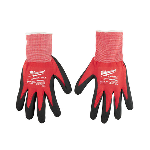 Double Extra Large Dipped Gloves, Milwaukee Brand P/N 48-22-8904