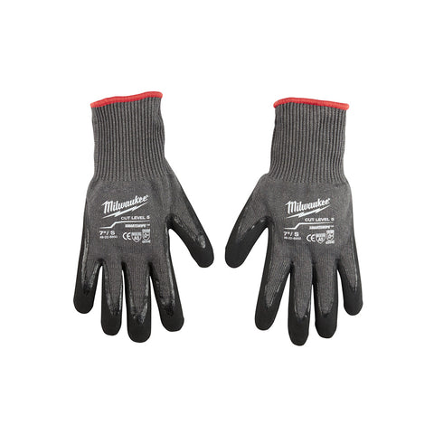 Milwaukee  48-22-8950 Cut 5 Dipped Gloves - S