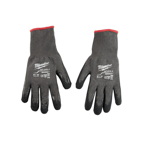 Medium Cut 5 Dipped Gloves, Milwaukee Brand P/N 48-22-8951