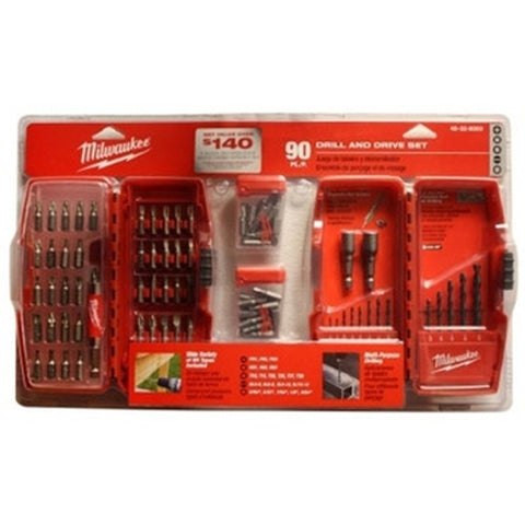 Milwaukee 48-32-8003H 90-Piece Drill and Drive Super Set