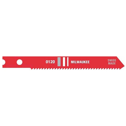 "Milwaukee 48-42-0120 2-3/4"" x 18TPI Jig Saw Blade 5-Pack"