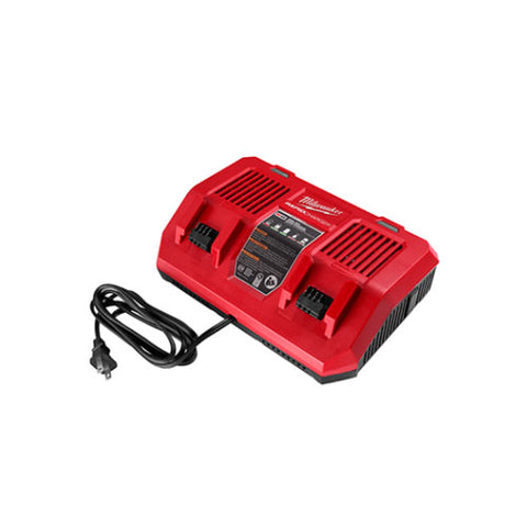 Milwaukee 48-59-1802 M18 Dual Bay Simultaneous Rapid Charger