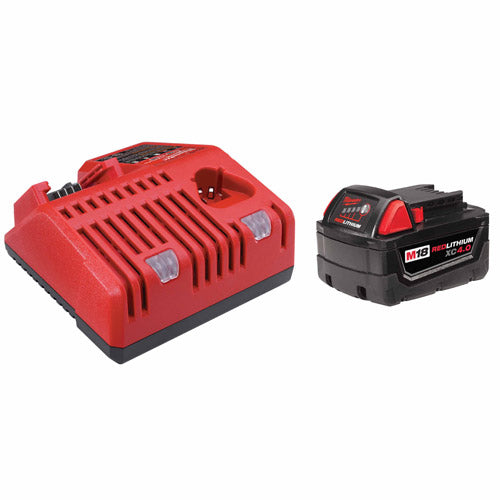 Milwaukee 48-59-1840 M18 REDLITHIUM XC4.0 System Starter Kit