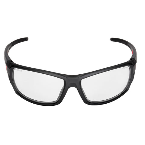 Milwaukee 48-73-2021 Clear High Performance Safety Glasses (Polybag)