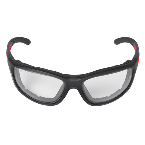 Milwaukee 48-73-2041 Clear High Performance Safety Glasses with Gasket (Polybag)