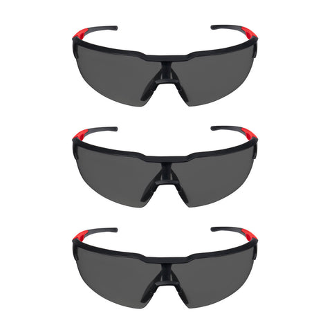 Milwaukee 48-73-2051 Tinted Safety Glasses, 3 pack