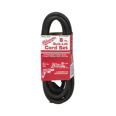 Milwaukee 48-76-4008 8' Quik-Lok Cord