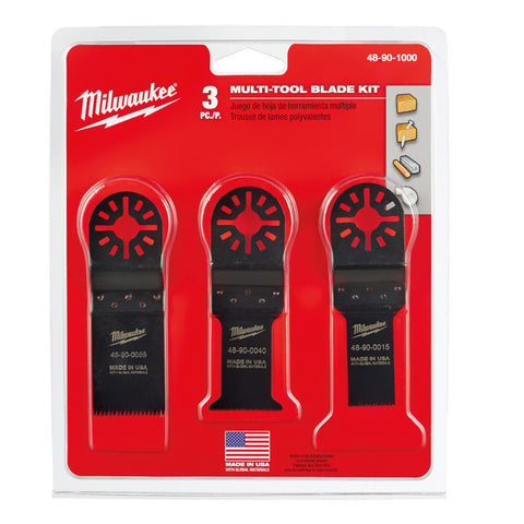 Milwaukee 48-90-1000 Multi-Tool Blade Kit