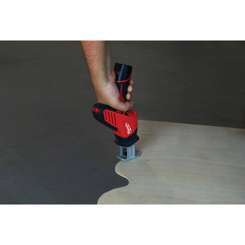 "Milwaukee 49-00-5310 M12 Hackzall Blade 4"" Wood Scroll 5-Pack"