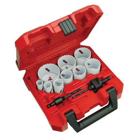 Milwaukee 49-22-4025 13 Piece General Purpose Hole Dozer Hole Saw Kit