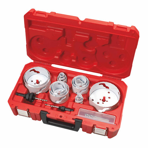 Milwaukee 49-22-4105 19-Piece Master Electrician's Ice Hardened Hole Saw Kit