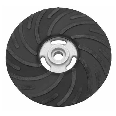 "Milwaukee 49-36-3800 7"" rubber spiral backing pad"