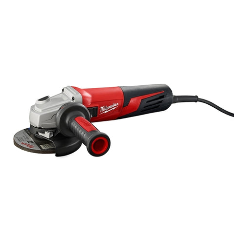 "Milwaukee 6117-33D 13 Amp 5"" Small Angle Grinder Slide, Lock-On, Dial Speed"