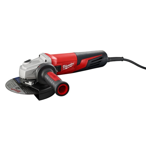 "Milwaukee 6161-33 13 Amp 6"" Small Angle Grinder Slide, Lock-On"