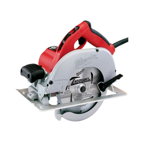 "Milwaukee 6391-21 7-1/4"" Tilt-Lok Left Blade Circular Saw with Case"