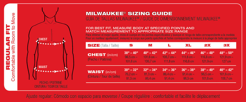 Milwaukee 302BL-21 M12 Navy Blue Heated Hoodie Kit
