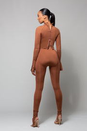 MARZ - BROWN TWO PIECE SET