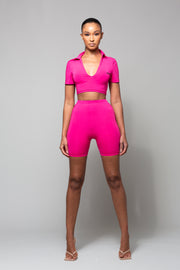 CINDY- PINK TWO PIECE SET