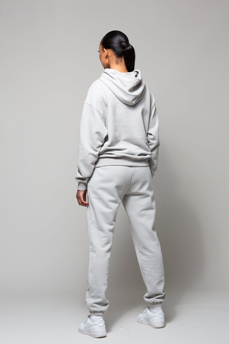 STRATO- THUNDER GREY HOODIE TOP