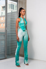 SANAA - JADE OMBRE RUCHED TROUSERS