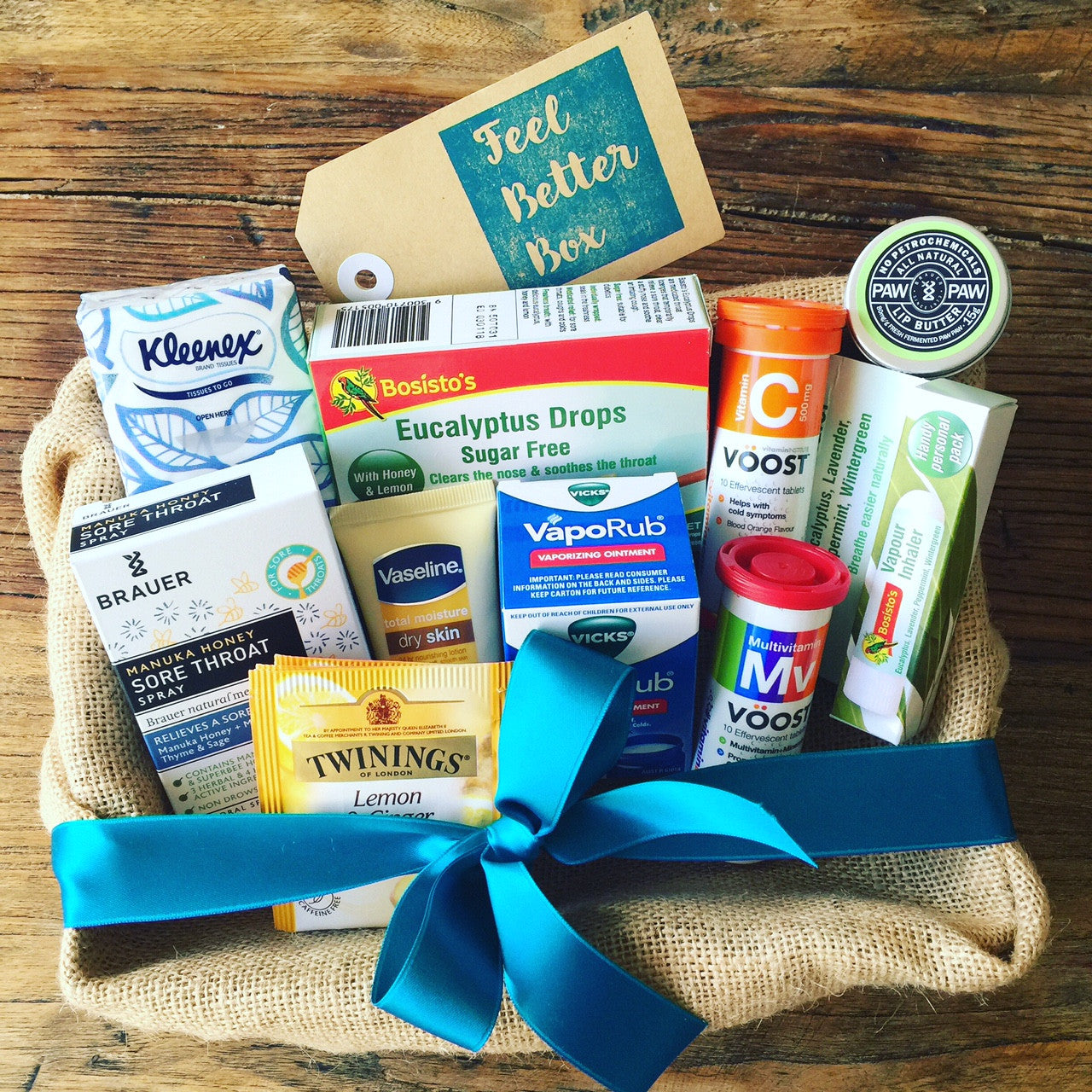 Cold flu survival kit for everyone including man flu feel cold flu survival kit negle Gallery