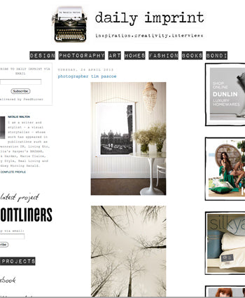 Penny Farthing Design House on Daily Imprint