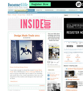 Penny Farthing Design House on Inside Out