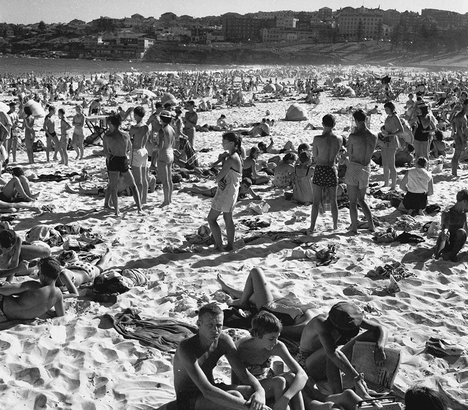 Beach Crowd Bondi - Penny Farthing Design House