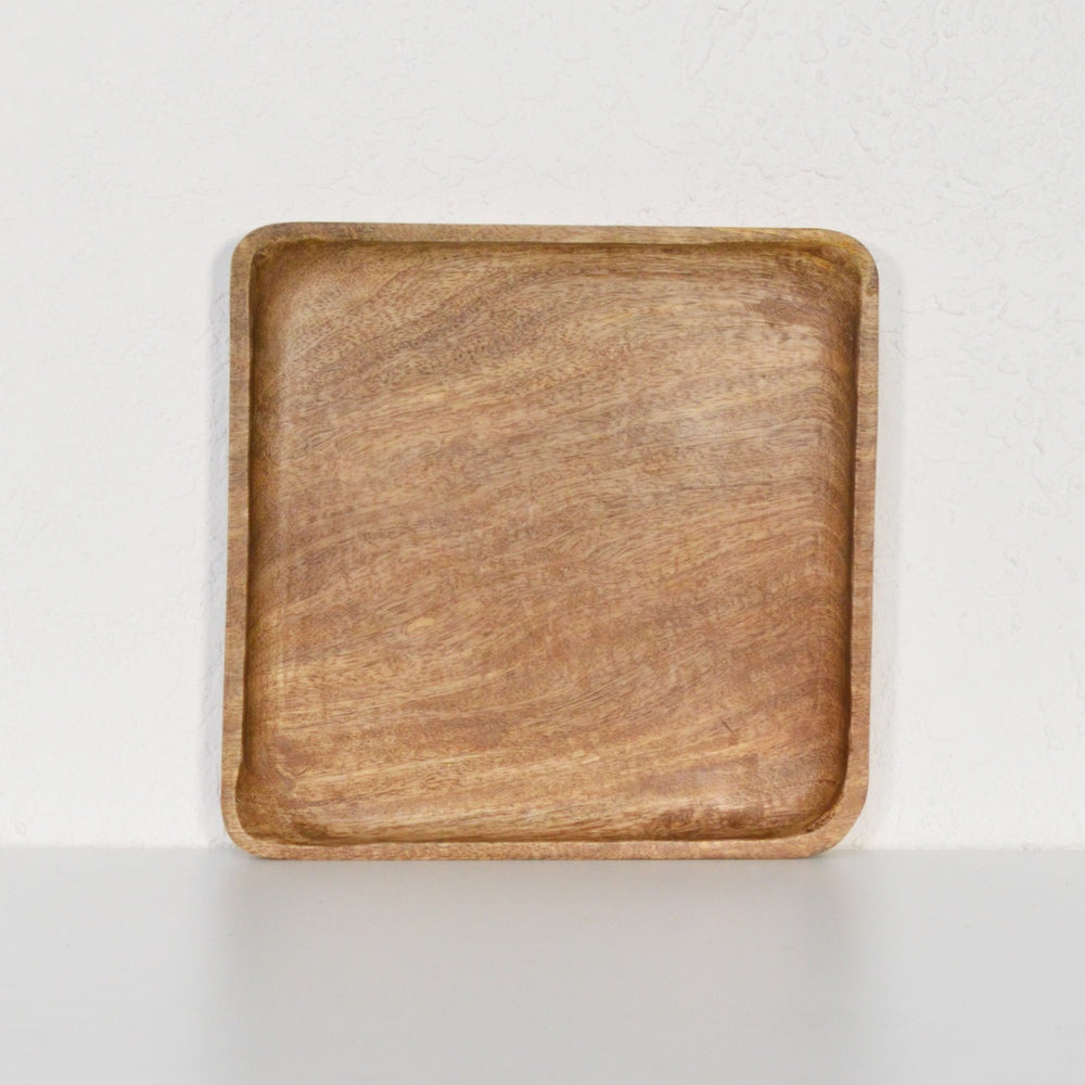 Natural Square Tray