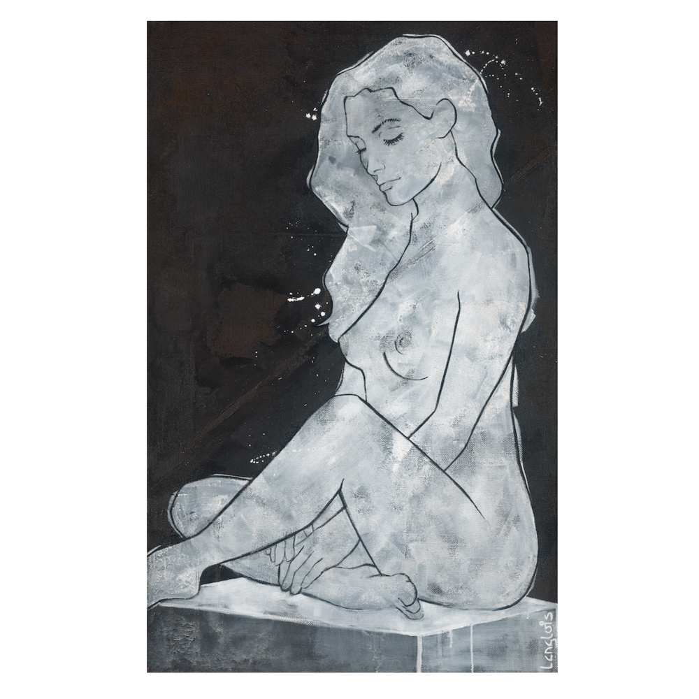 Seated Nude No. 4