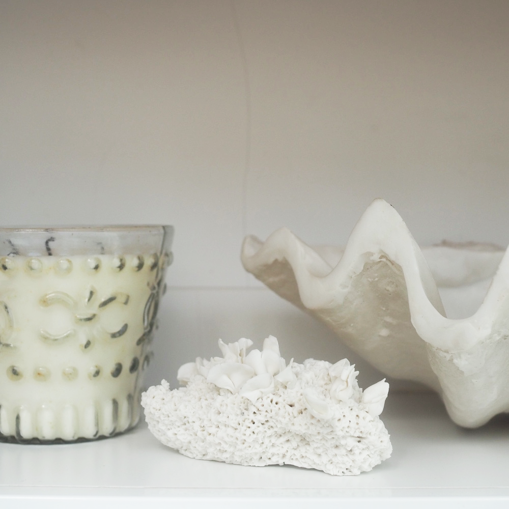 Hand made Porcelain Coral