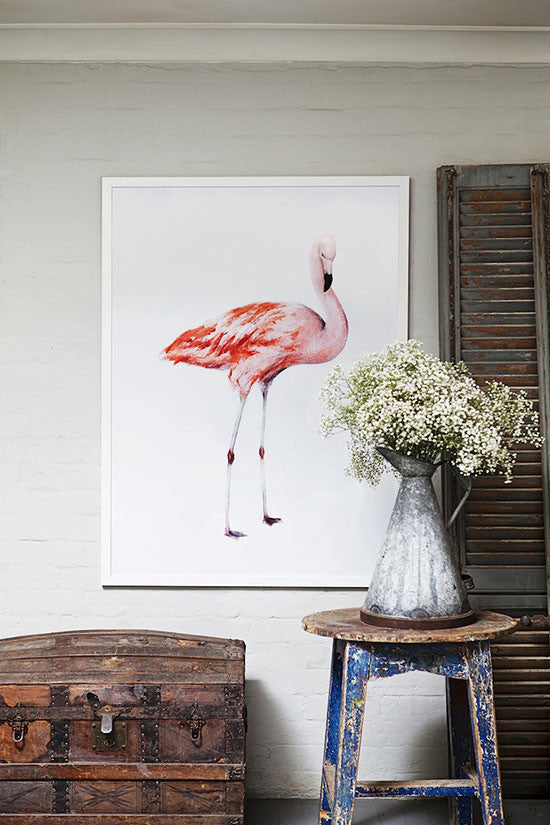 Frank the Flamingo - Penny Farthing Design House - 1