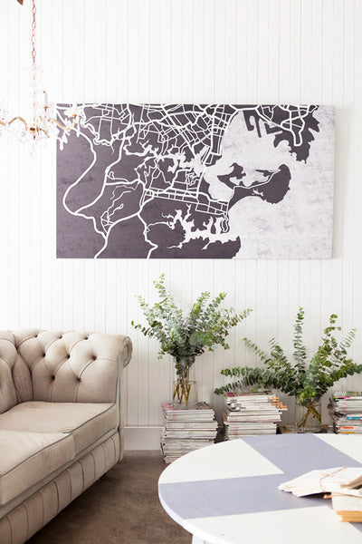 Sydney South Map - Penny Farthing Design House
