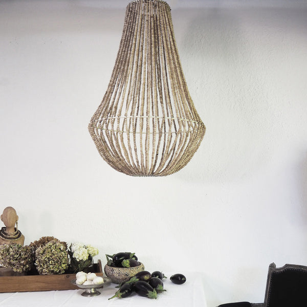 Delicate Hand Beaded Chandelier