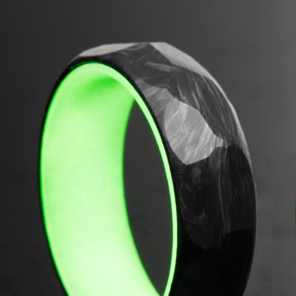 and blue modern rings traditional weddings lume pin ring