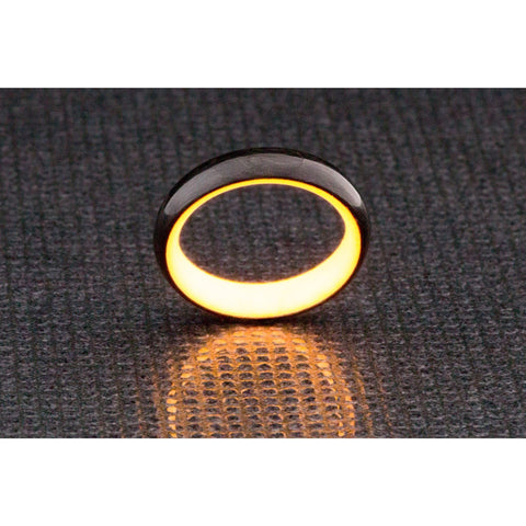Carbon Lume Ring - Orange