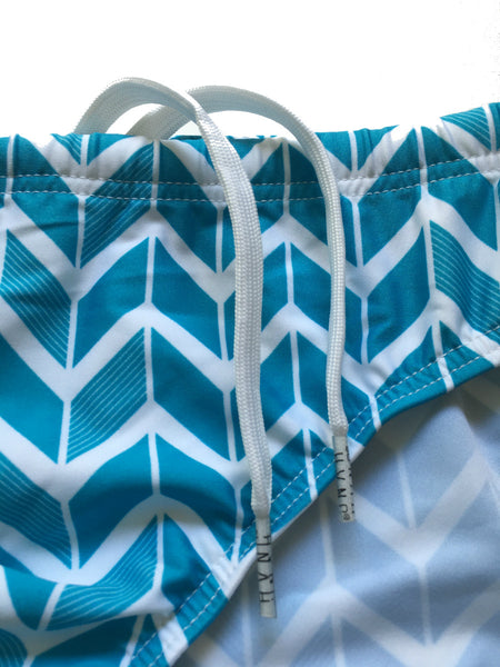 Blue Lux Swim Brief