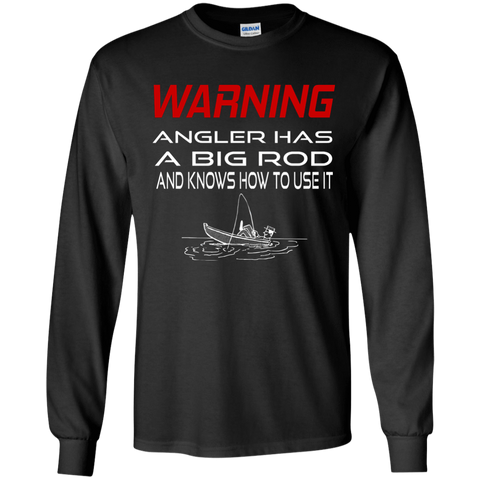 Apparel - Angler Has A Big Rod Hoodie/ Tees - Gear Thrill