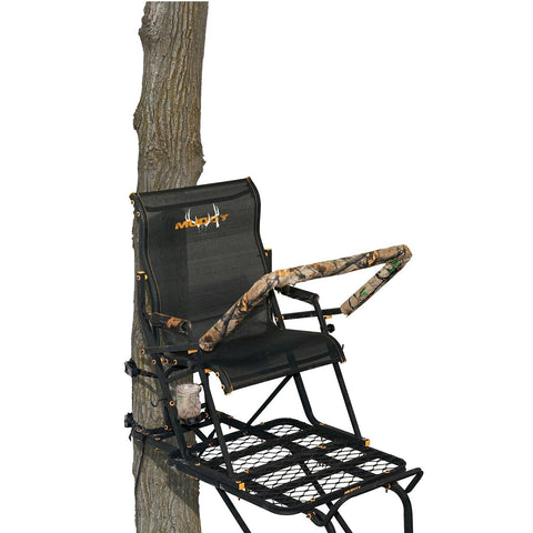 Muddy Boss Hawg 1.5 17 Foot Ladder Treestand