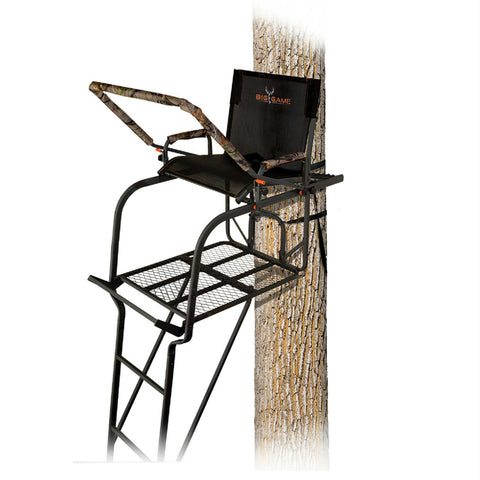 Big Game Hunter HD 1.5 18 Foot Ladder Treestand