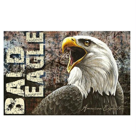 American Expedition Bald Eagle Graphic Canvas Art