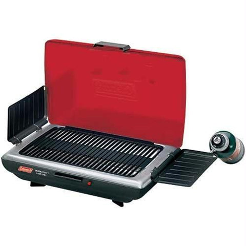Coleman 1 Burner Portable Grill Red-Black 2000020928