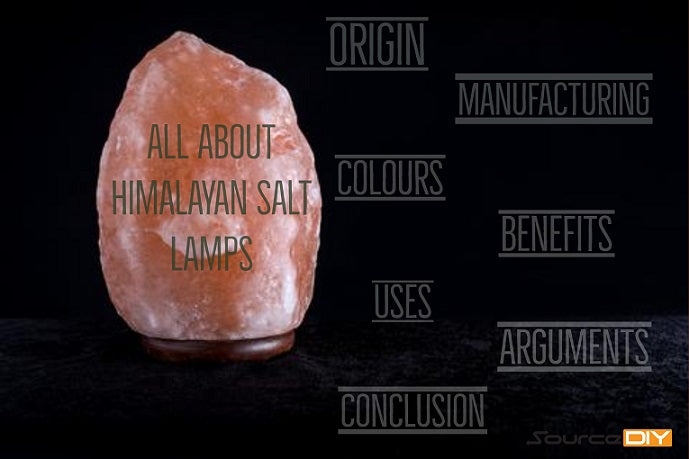 All About Himalayan Salt Lamps