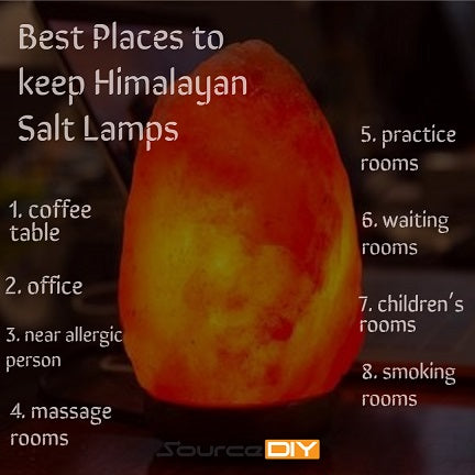 8 Best Places to Keep Himalayan Salt Lamps