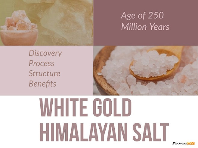 Salt Of The Himalayas is Known as White Gold
