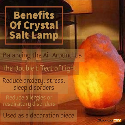 What Are The Benefits Of Crystal Salt Lamp
